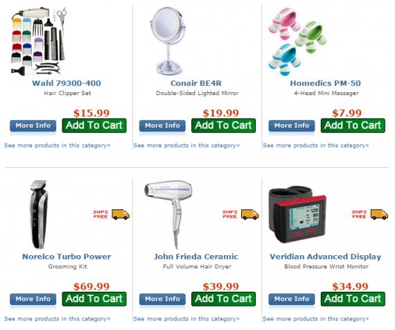 Frys.com предлагает бесплатную доставку при заказе от 34$.Значок «Бесплатная доставка» отображается рядом с каждым товаром, дороже этой цены.